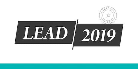 LEAD 2019 - Newcastle tickets