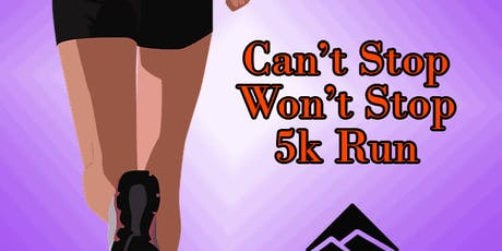 Can't Stop Won't Stop 5k Run at Blanchard Park tickets
