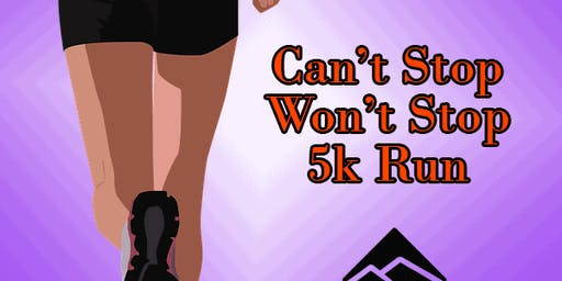 Can't Stop Won't Stop 5k Run at Blanchard Park