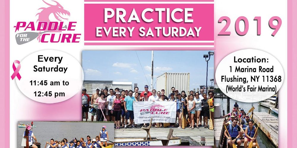 Paddle For The Cure Weekly Saturday Practice