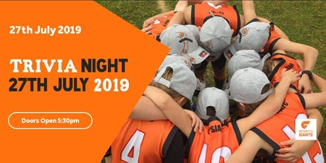 Penrith Giants Trivia Night tickets