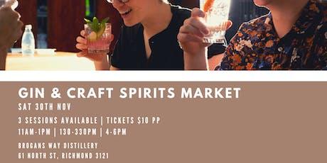 Gin & Craft Spirits Market tickets