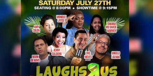 Laughs R US Comedy Club @ Vidal's Latino Restaurant & Cigar Lounge