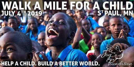 Walk a Mile for a Chid Event