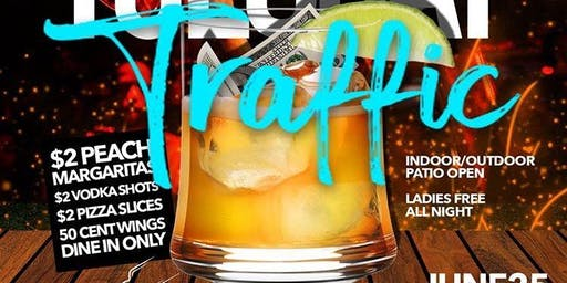 Whiskey Peach Pizza Bar And Lounge  #TuesdayTraffic New $2 AfterWork Wave!!
