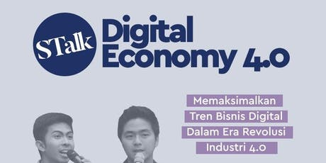 [PAID EVENT] DIGITAL ECONOMY 4.0 tickets