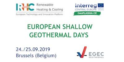 European Shallow Geothermal Days