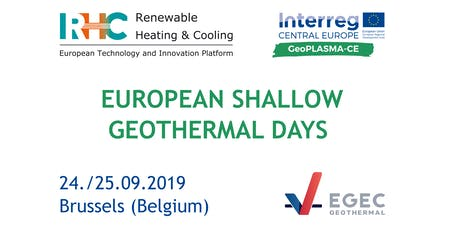 European Shallow Geothermal Days tickets