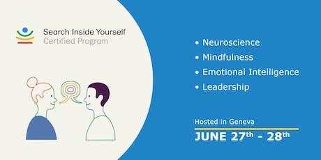 Search Inside Yourself (SIY) Certified Program Geneva tickets