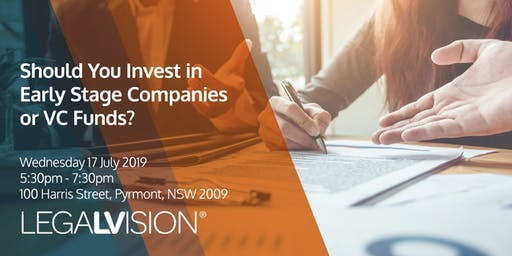 Should You Invest in Early Stage Companies or VC Funds?