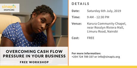 Overcoming Cash Flow Pressure in Your Business (Free Workshop) tickets