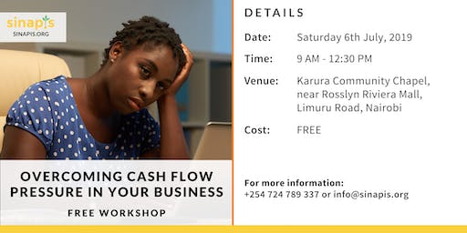 Overcoming Cash Flow Pressure in Your Business (Free Workshop)