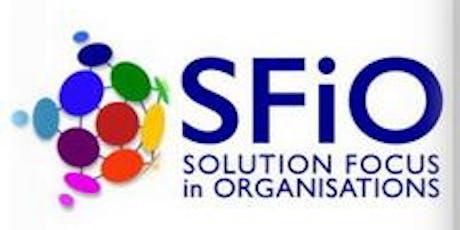 SFiO German Chapter - Agilen Wandel mit lösungsfokussierten Praktiken begleiten am 9. November 2019 Tickets