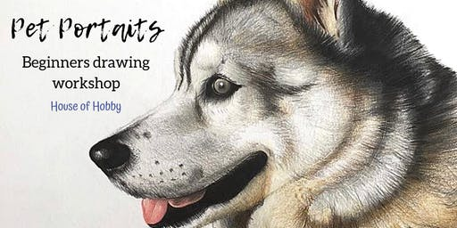Pet Portraits - Draw Your Fur-baby Workshop