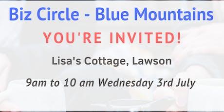 Biz Circle - Blue Mountains tickets