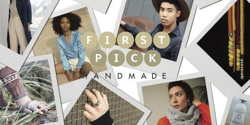 First Pick Handmade Market Fall/Winter 2019