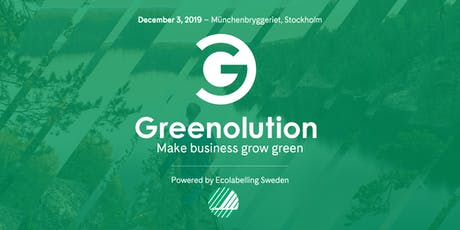 Greenolution - Make business grow green tickets