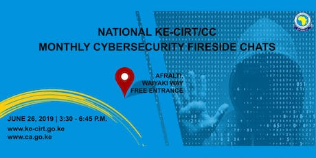 National Ke-Cirt/cc Monthly Cybersecurity Fireside Chats tickets