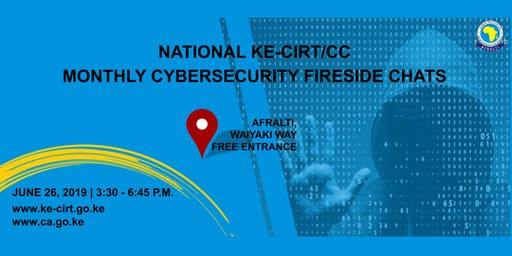 National Ke-Cirt/cc Monthly Cybersecurity Fireside Chats