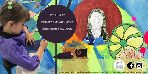 Primary Kids Art Classes Term 3 Enrolments Now Open