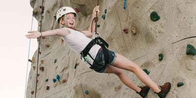FRIDAYS: Rock Climbing for Girls (G.2-G.5) - 1,700