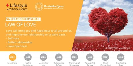 Relationship Lifestyle Charger – Law of Love tickets