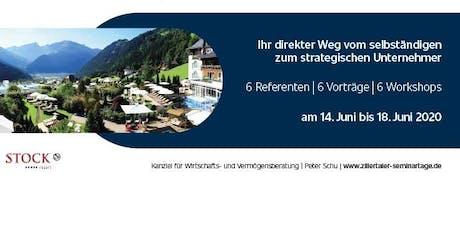 10 Jahre Zillertaler Seminartage 2020 Tickets
