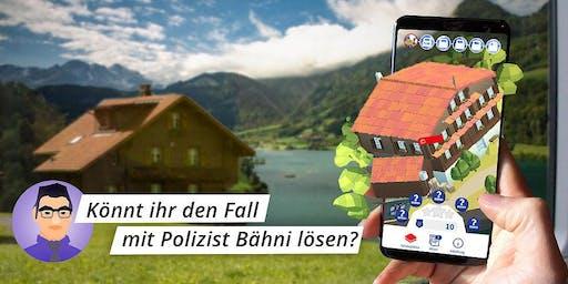 Gesucht: Tester*innen für Game-App auf der Zugstrecke Luzern – Meiringen!