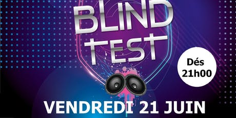 Blind Test - Fête de la musique  billets