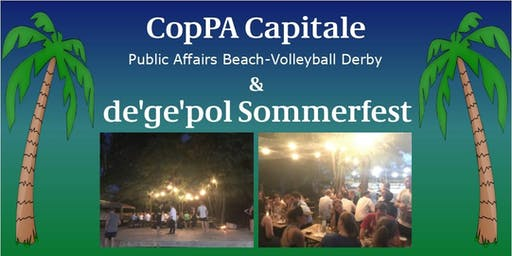 CopPA Capitale - Beach-Volleyball Derby & de'ge'pol Sommerfest