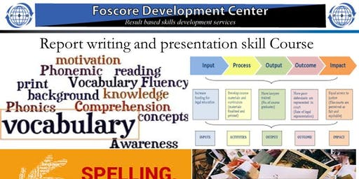Report writing and presentation skill Course