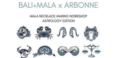 Mala Necklace Making Workshop featuring Arbonne tickets
