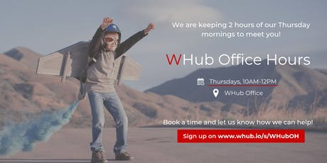WHub Office Hours tickets