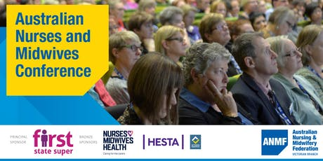 Australian Nurses and Midwives Conference 2019 tickets