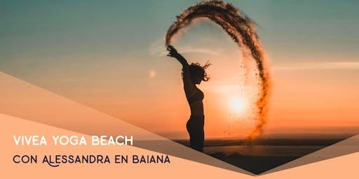 vivea yoga Beach en Baiana Viladecans