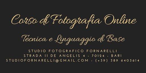 Corso di Fotografia Online | Tecnica e Linguaggio di Base
