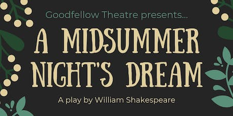 A Midsummer Night's Dream: Matinee tickets