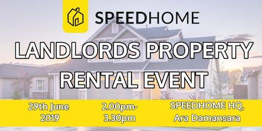 Landlords Property Rental Event