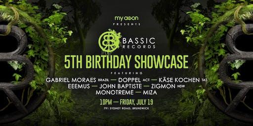 Bassic Records 5th Birthday showcase
