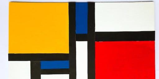 Summer Workshops for Kids:The Masterpiece-Piet Mondrian