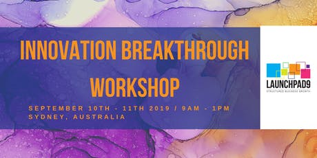Innovation Breakthrough Workshop tickets