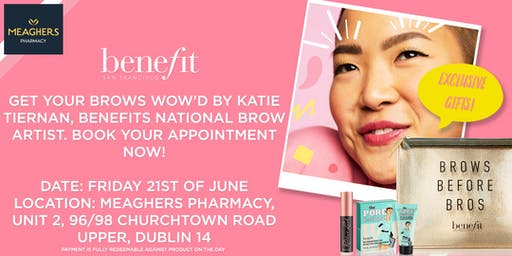 Be Benefit Brow Wow'd with Meaghers Pharmacy