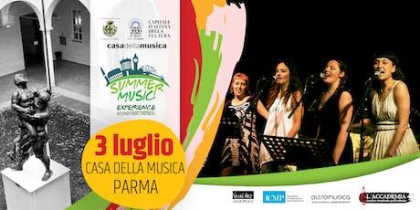 Concerto del Summer Music Experience - Casa della Musica biglietti