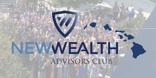 New Wealth Advisors Club Hawaii RPP Introduction