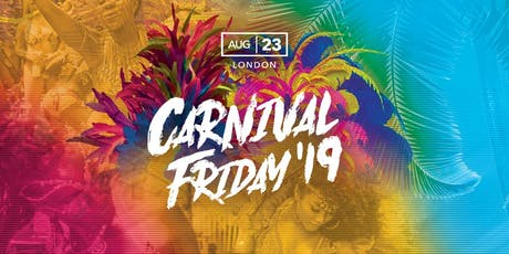 Notting Hill Carnival 2019 Starter tickets