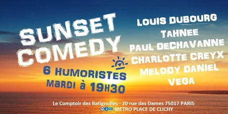 SUNSET COMEDY billets