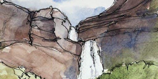 Watercolor Utah