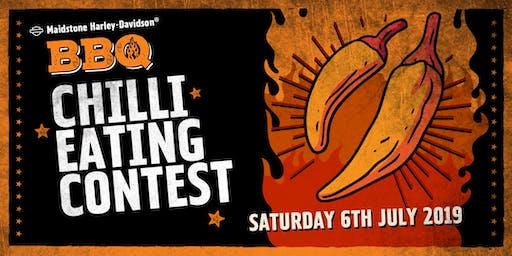 Maidstone Harley-Davidson Chilli-Eating Contest