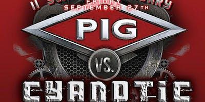 STIMULATE 11 Year Anniversary Pig vs Cyanotic at Saint Vitus 9/27