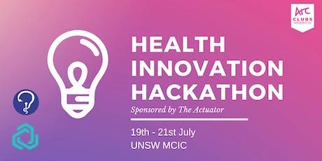 Health Innovation Hackathon tickets